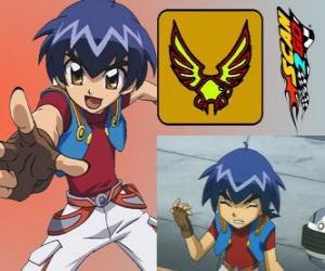 Rompicapo di Kazuya Daidoh è il personaggio principale di Scan2Go e vuole diventare il pilota più veloce nello spazio