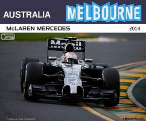 Rompicapo di Kevin Magnussen - McLaren - Gran Premio d'Australia 2014, 2º classificato
