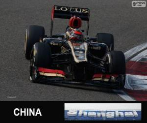 Rompicapo di Kimi Räikkönen - Lotus - Gran Premio della Cina 2013, 2 ° classificata
