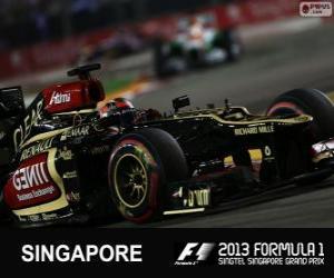 Rompicapo di Kimi Räikkönen - Lotus - Gran Premio di Singapore 2013, 3 ° classificato