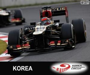 Rompicapo di Kimi Räikkönen - Lotus - Gran Premio di Corea 2013, 2º classificato