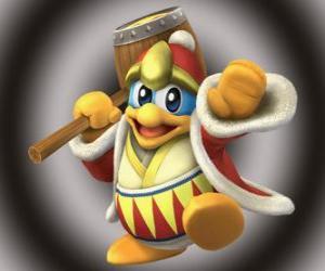 Rompicapo di King Dedede, grande nemico di Kirby