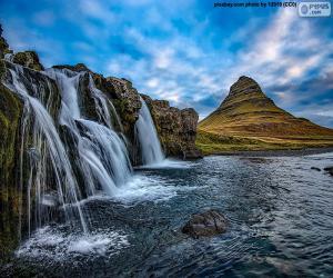 Rompicapo di Kirkjufellsfoss, Islanda