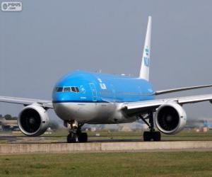 Rompicapo di KLM Royal Dutch Airlines, Paesi Bassi
