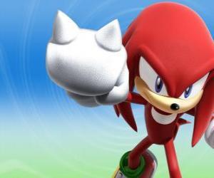 Rompicapo di Knuckles the Echidna, rivale e amico di Sonic