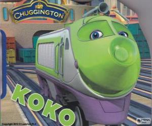 Rompicapo di Koko, locomotiva elettrica di Chuggington