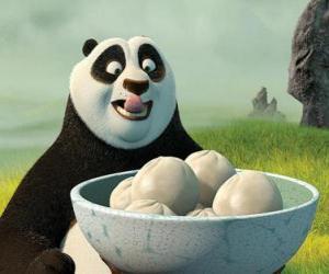 Rompicapo di Kung Fu Panda vuole mangiare biscotti a base di riso