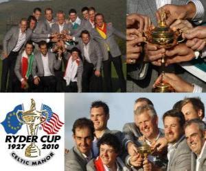 Rompicapo di L'Europa vince la Ryder Cup 2010
