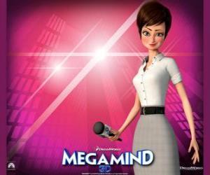 Rompicapo di La bella giornalista Roxanne Ritchi da chi è innamorato Megamind