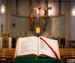 Rompicapo di La Bibbia nel leggio