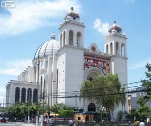 Rompicapo di La Cattedrale Metropolitana del Divin Salvatore del mondo, San Salvador, El Salvador