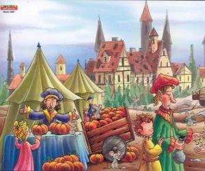 Rompicapo di La città di Hamelin è infestata da topi, gli abitanti del villaggio non sanno cosa fare