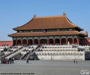 Rompicapo di La Città Proibita, Cina