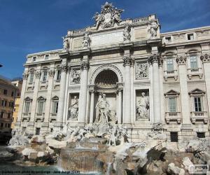 Rompicapo di La Fontana di Trevi, Roma