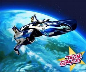 Rompicapo di La Hornet è il veicolo spaziale della Team Galaxy