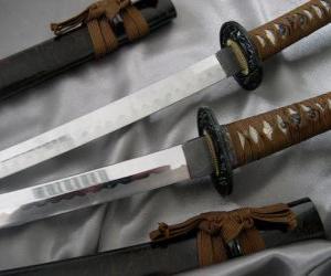 Rompicapo di La Katana è una spada a singolo bordo, curva
