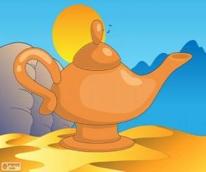 Rompicapo di La lampada meravigliosa. La lampada magica