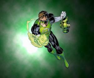 Rompicapo di La Lanterna Verde, il supereroe ha un anello di potere che è una delle armi più potenti dell'universo