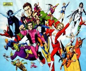 Rompicapo di La Legione dei Super-Eroi è una squadra di supereroi dei fumetti appartenenti all'universo appartenenti al editoriale DC.