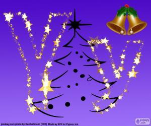 Rompicapo di La lettera Y da Natale