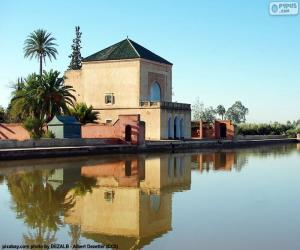 Rompicapo di La Menara, Marocco