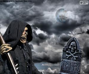 Rompicapo di La morte, Halloween