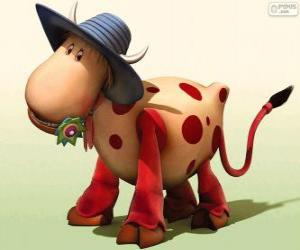 Rompicapo di La mucca Ermintrude, uno dei personaggi di The Magic Roundabout