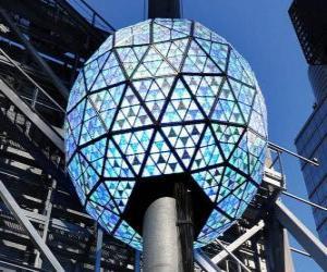 Rompicapo di La palla del nuovo anno, Times Square, Manhattan, New York