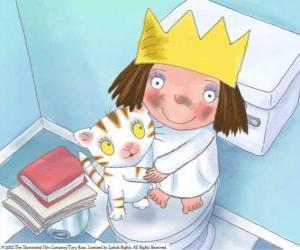 Rompicapo di La piccola principessa con il suo gatto Puss