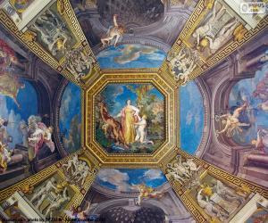 Rompicapo di La pittura di una cupola del Vaticano