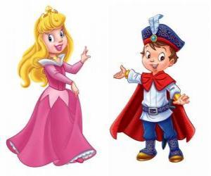 Rompicapo di La principessa e il principe parlando