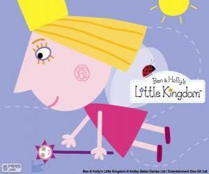 Rompicapo di La principessa fata Holly con la bacchetta magica