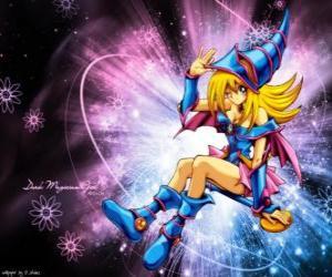 Rompicapo di La ragazza mago oscuro è una altra forma che utilizza Pegasus contro Kaiba