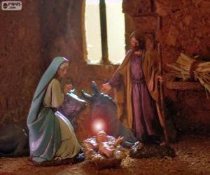 Rompicapo di La Sacra Famiglia alla vigilia di Natale