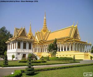 Rompicapo di La sala del trono, Cambogia
