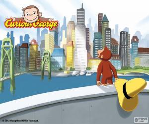 Rompicapo di La scimmia George e la città