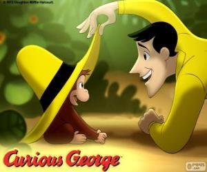 Rompicapo di La scimmia George e Ted, l'uomo in cappello giallo