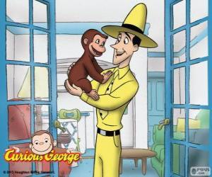 Rompicapo di La scimmia George e Ted