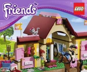 Rompicapo di La scuderia di Heartlake, Lego Friends
