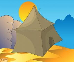 Rompicapo di La tenda dei beduini nel deserto, Khaymah