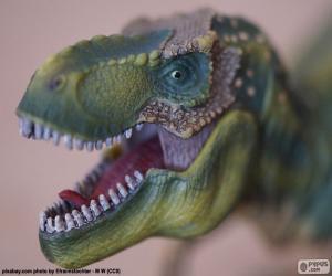 Rompicapo di La testa di un dinosauro