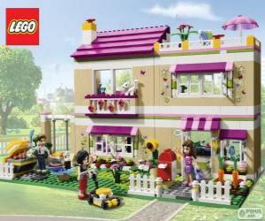 Rompicapo di La Villetta di Olivia, Lego Friends