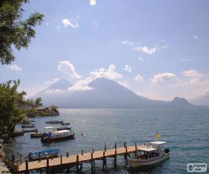 Rompicapo di Lago Atitlán, Guatemala