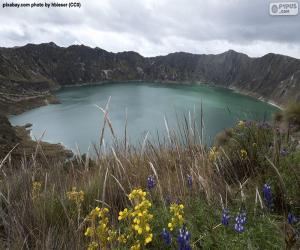 Rompicapo di Laguna di Quilotoa, Ecuador