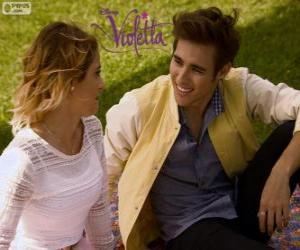 Rompicapo di L'amore di Violetta e Leon, Violetta 3
