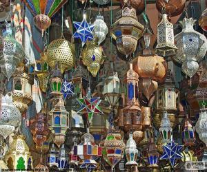 Rompicapo di Lampade marocchine