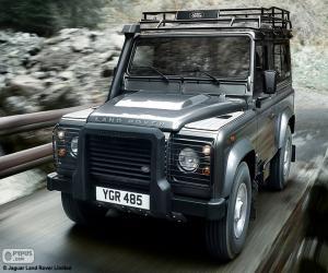 Rompicapo di Land Rover Defender 90