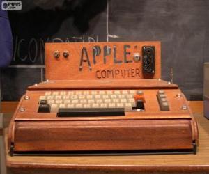 Rompicapo di L'Apple I sono stato uno dei primi personal computer (1976)