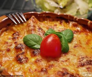 Rompicapo di Lasagne al forno