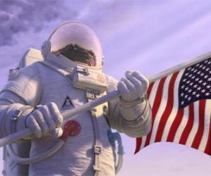 Rompicapo di L'astronauta Chuck Baker calpesta il Planet 51 pensando che è disabitata